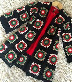 Fabulous Crochet a Little Black Crochet Dress Ideas. Georgeous Crochet a Little Black Crochet Dress Ideas. Black Crochet Dress, Crochet Coat, Crochet Cardigan Pattern, Crochet Jacket, Crochet Clothes, Easy Crochet, Crochet Baby, Knitted Coat, Crochet Afghans