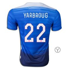 2015 William Yarbrough Youth Away Jersey #22 USA Soccer