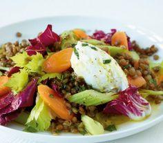 Linsen-Gemüse-Salat Rezept - [ESSEN UND TRINKEN]