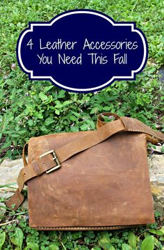 4 Leather #Accessories You Need This #Fall #cooleather @cooleather #fashion
