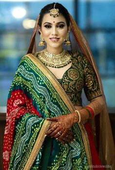 Looking for Bridal Lehenga for your wedding ? Dulhaniyaa curated the list of Best Bridal Wear Store with variety of Bridal Lehenga with their prices Indian Bridal Outfits, Indian Bridal Lehenga, Indian Bridal Wear, Indian Wear, Indian Attire, Indian Dresses, Red Lehenga, Anarkali, Bandhani Dress