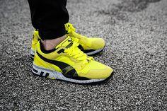Puma XT2 Mesh Evolution - Fluro Yellow