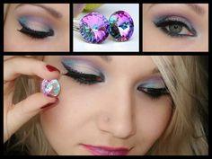 Swarovski Crystals Inspiration  MakeUp by Monica