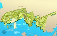 Anahita, Mauritius -  Master Plan