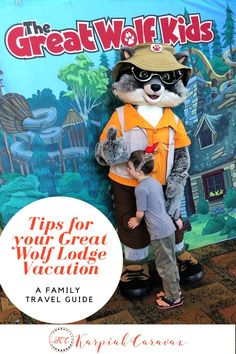 Waterslides, scavenger hunts, rope courses, story time and furry friends. Tips to make your Great Wolf Lodge vacation even better. Weekend Trips, Vacation Trips, Day Trips, Vacation Travel, Travel With Kids, Family Travel, Travel Inspiration, Travel Ideas, Travel Tips