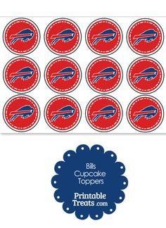 Buffalo Bills NFL Logo Ball Art Wall Decor Sticker 12/'/' or 25/'/'