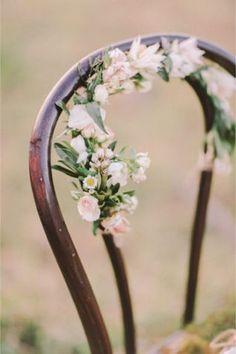 an enchanted garden editorial <br> An enchanted garden themed wedding inspiration shoot that's perfect for spring. Forest Wedding, Garden Wedding, Rustic Wedding, Our Wedding, Dream Wedding, Wedding Bells, Boutonnieres, Flower Decorations, Wedding Decorations