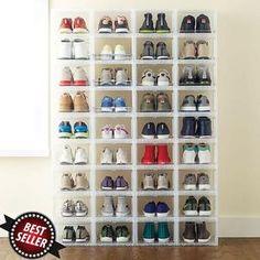 sneaker storage storage ideas diy (Last OFF)Drawer Type Shoe Box--Over 12 PCS Free Wall Storage, Diy Storage, Storage Boxes, Storage Ideas, Storage Solutions, Smart Storage, Kitchen Storage, Closet Shoe Storage, Closet Organization