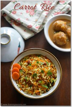 I remember eating carrot rice  as a school going kid.....It was one of the regular variety rice amma packs for lunchbox....And I would hap...
