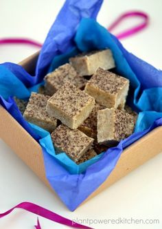 Vanilla Bean Almond Butter Fudge by Plant-Powered Kitchen