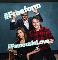 Famous in Love coming at you on Freeform. April 18th. 9/8c. | Famous in Love