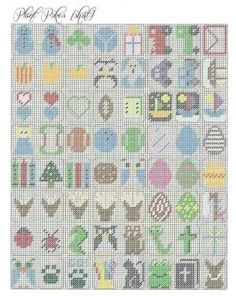 Plant Pokes (Short) - Quick and Easy PC Projects Plastic Canvas Crafts, Plastic Canvas Patterns, Canvas Board, Pearler Beads, Cross Stitch Flowers, Key Chains, Easy Projects, Yarn Crafts, Needlepoint
