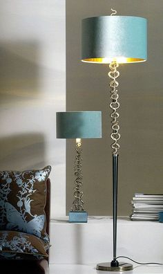 Luxury Designer Bronze Floor Lamp