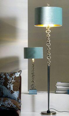 Luxury Designer Bronze Floor Lamp | #InteriorDesign #Decor #FloorLamp…