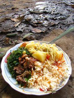 Plate of Kenyan Food