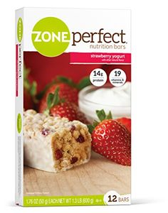 ZonePerfect Nutrition Bars, Strawberry Yogurt, 1.76 oz, 12 Count *** Check out the image by visiting the link.