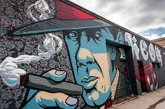Art Alley on 17th Street in Kansas City