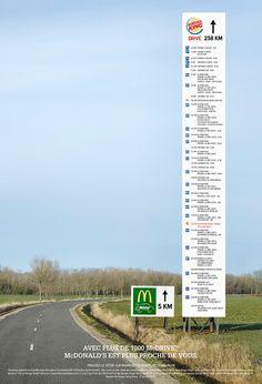 Si vous suivez un peu la page Facebook de Burger King, vous aurez remarqué que la marque est très à cheval sur la proximité avec ses fans. Pour rebondir sur le succès de BK sur Facebook, McDonald&r…