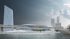 Project - Kaohsiung Marine Gateway - Architizer