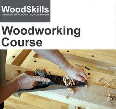 Online Woodworking Class  (Download)  Learn woodworking skills online. Self-paced course covers topics in woodworking including tools and joinery. - $39.00. Available at www.woodskills.com Woodworking Courses, Woodworking Joints, Woodworking Books, Woodworking Skills, Learn Woodworking, Woodworking Magazine, Woodworking Techniques, Build A Router Table, Shooting Board