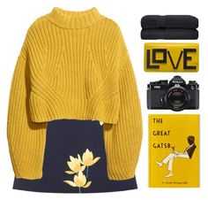 """""""#"""" by credendovides ❤ liked on Polyvore featuring Marni, H&M and Nikon"""