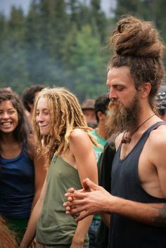 Rainbow Family gatherings. Everyone should go to a Rainbow gathering at least once in their life. It's good for your soul and you meet the coolest people.