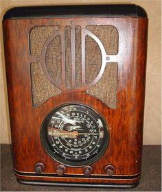 Zenith 6-S-229 Tombstone (1938) radio