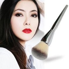Beauty Girl 2017  1pcs Cosmetic  Brush Pro Soft Contour Face Powder Makeup Brushes  Tool For Powder Remover Kit Dropshopping  #Affiliate