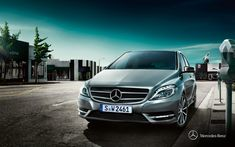 Mercedes-Benz B-Class. Fuel consumption combined: 6,3-4,4 l/100km, CO2 emissions combined: 147-114 g/km. #MBCars