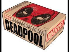 [Unboxing Video] Marvel Collector Corps (February 2016 - Deadpool)