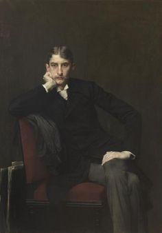 Jules Lefebvre - Portrait de Monsieur Fitzgérald (1889)