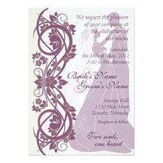 African American Bride Bridal Shower Invitations