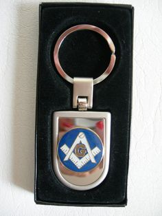 Masonic  Key Chain with gift box by JudysEtsyStore on Etsy, $7.99