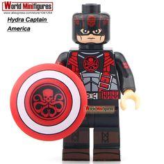 Hydra Captain America XINH 240 Single Sale Super Heros Minifigures Building Blocks Best Children Gift Toy X0110