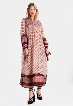 Vêtements Scotch & Soda DRESS WITH PIPING DETAILS AND SHEER - Robe longue - combo multicolore: 159,95 € chez Zalando (au 08/04/18). Livraison et retours gratuits et service client gratuit au 0800 915 207.
