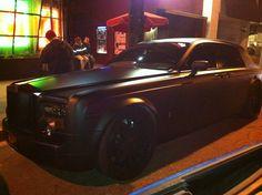 Amazing car spotted in la, matte finish