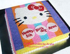 Hello Kitty Sheet Cake