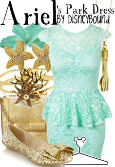 The Little Mermaid ~ Ariel inspired outfit