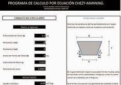 #Cálculo y #Diseño de #Canales http://ht.ly/C6DW9 | #Isoluciones #PlanillasExcel #Canales