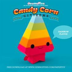 Candy Corn Citizens - Rainbow Flavor