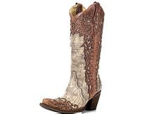 Shop quality Women's Cowgirl Boots at Country Outfitter for hard to beat prices. You'll find your country when you shop Country Outfitter today! Wedding Cowboy Boots, Cowgirl Boots, Wedding Shoes, White Wedding Dresses, Bridal Dresses, Bridal Accessories, Bridal Jewelry, Bridal Veils And Headpieces, Corral Boots