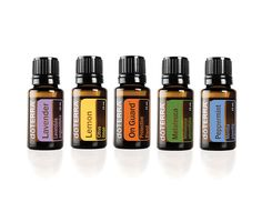 If you have to limit the number of oils to purchase, these are the five to pick and they come in a set on www.mydoterra.com/taucole