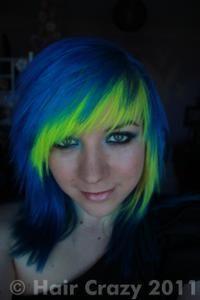 Claudia -   - Atlantic Blue   - Fluorescent Glow   - Turquoise