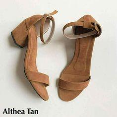 Sexy tan sandals