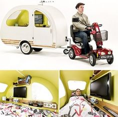 This is my retirement plan. (Also, now available to be attached to a bicycle!)