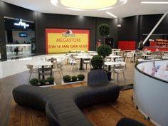 Braila Mall shopping mall, Romania  #shoppingmall #bdscontract #contractfurniture # foodcourtdesign