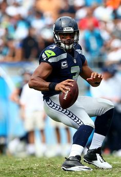 Activity at least 30 minutes a day will help keep the doctor away, unless u get sacked. SEPTEMBER 08: Russell Wilson #3 of the Seattle Seahawks drops back to pass against the Carolina Panthers during their game at Bank of America Stadium on September 8, 2013 in Charlotte, North Carolina. (Photo by Streeter Lecka/Getty Images)