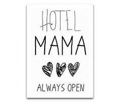 JOTS A6 Kaart Hotel Mama http://www.moesengriet.nl/nl/jots-a6-kaart-hotel-mama.html