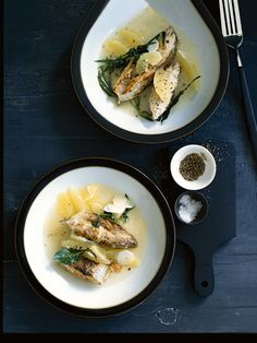 Lemon & Tarragon Fish Stew | Donna Hay