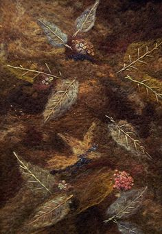 #119 Fallen Leaves Too   Deebs Fiber Arts